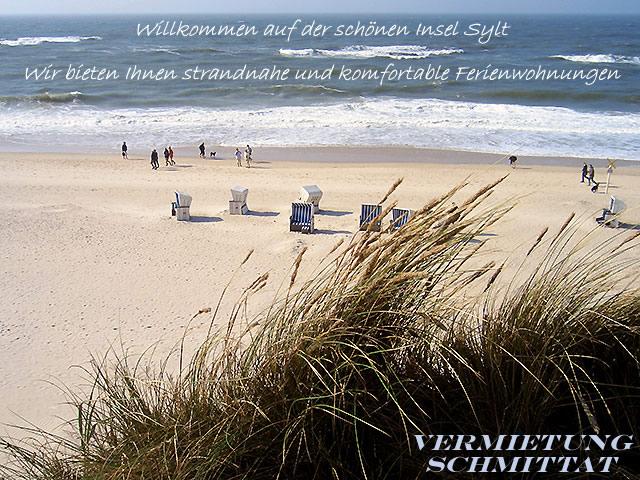 Komfortable und strandnahe Ferienwohnung auf Sylt
